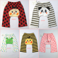 Cheap Wholesale-baby bloomers for boys & girls newborn infant bushas legging pp pants toddler casual jeans clothes dresses wear loose trousers