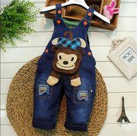bebe black jeans - CT642 Spring kids overall jeans clothes newborn baby bebe denim overalls jumpsuits for toddler infant boys girls bib pants