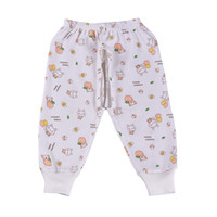 baby file - Newborn baby pure cotton open files pants for boys and girls infant cartoon long trousers and retail