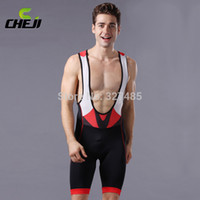 Wholesale Summer CHEJI Men Pro Cycling Bib Shorts Bike Bicycle Riding Shorts Ciclisomo Bicicleta Trousers Fitness Sport Sports