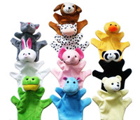 big puppet - Cute Big Size Animal Glove Puppet Hand Dolls Plush Toy Baby Child Zoo Farm Animal Hand Glove Puppet Finger Sack Plush Toy