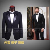 best men s blazers - wedding suits for men plus size bridegroom black tuxedo jacket clothing set groom suits best prom suits one button blazer