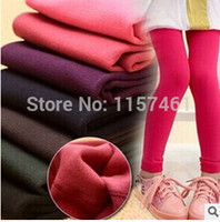 Wholesale New winter warm leggings baby girls leggings pants baby clothes kids wear children clothing baby pants