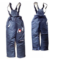 baby ski pants - Promotion Winter Brand Boy Ski Overalls Children Trousers Kids Outdoor Skiing Pants Baby Thickening Sweatpants Years