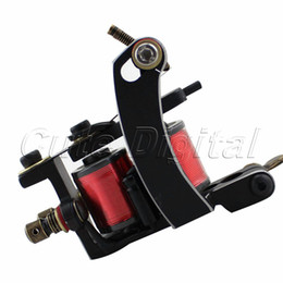 Wholesale Promotion Good Quality r m wrap General Jazz Arc Carbon Steel frame Coils Tattoo Machine Gun Set For Line Shader
