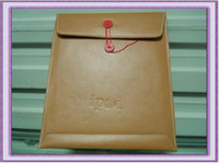 Wholesale 2011 Folder Sleeve Leather Case Cover Pouches Pocket Pouch Bag For Ipad Ipad2 nd G Tablet Laptop