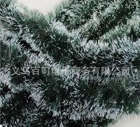 garland christmas - christmas decoration dark green tops white edge ribbon garland new year enfeites de natal beautiful noel christmas