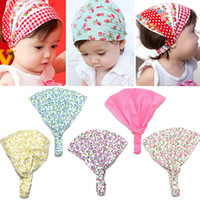 bandana headband girl - New Arrival Baby Girl Kid Newborn Flower Headband Hair Wear Accessories Headscarf Bandana Hat Colors BB