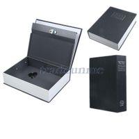 Bamboo bamboo bedding - Hot Sale cm English Dictionary Book Cash Money Safe Box Case Black Size S