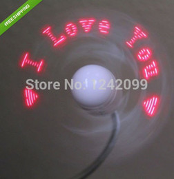 Wholesale Christmas Gift USB Powered LED Message programmable Flicker For Desktop Laptop Novelty beautiful LED lights