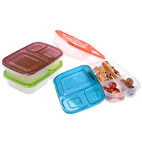 Wholesale New Design compartment Bento Lunch Box Containers Set of KC25248