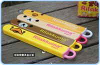 Wholesale Sets Kawaii SAN X Rilakkuma Bear Chicken Chopsticks Set Convinent Healthy Lunch Set Chopsticks With BOX