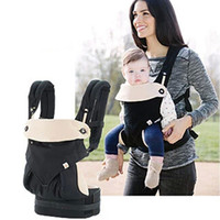 Cotton baby positioning - Baby Carrier New Four Position Multifunction Breathable Infant Carrier Backpack Kid Carriage Sling Wrap Suspenders