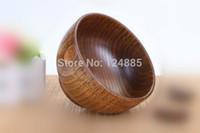 Wholesale wooden bowl eco friendly wood rice bowl child bowl cm