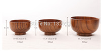 Wholesale pieces Factory eco friendly jujube wood bowl baby wood bowl inch diameter