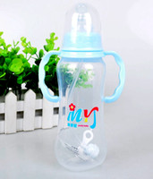 Wholesale ML PP Material Cheap Baby feeding bottle AUTOMATIC pipette infant milk bottle newborn nursing bottle baby s bottle feeder
