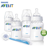 . baby starter set - Brand Original AVENT Baby Feeding Milk Nursing Bottle Mamadeira oz oz newborn Starter Set