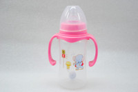 animal feed factory - drop shipping factory outlet wide mouth feeding bottle for baby fruit Nursing Bottle with printing animal kids Feeding ML