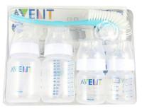 Wholesale Brand Original AVENT Baby Feeding Milk Nursing Bottle Mamadeira oz oz oz newborn Starter Set Environmental safety