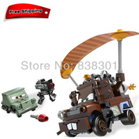 toy tow trucks - Pixar Cars Building Blocks Toys Mater Escape Tow Mater Truck Pixar Car The Scene Blocks Toy Set For Children