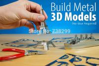Wholesale Miniature Ferris Wheel D Metal Model Puzzle D Model Building Kits Puzzle D Solid Jigsaw Puzzle Scale Model Building Set