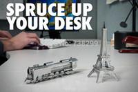 Wholesale Himeji Castle Miniature D Metal Model Puzzle D Model Building Kits Puzzle D Solid Jigsaw Puzzle Scale Model Building