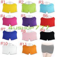 Cheap Wholesale-1pcs EQZ201 Women's Belly Dance Comfortable Safety Shorts Trousers Costume Dancewear
