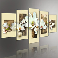 art portfolio - Flowers love Screen HAND PAINTED Pop canvas Modern Decorative Portfolio Abstract art Stereo Pure white gift oil paintings
