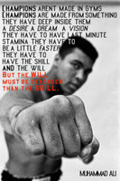 motivational posters - Motivational Educational Silk Poster Modern Office Classroom Decor x24 x30 x18inch BE STRONGER Muhammad Ali