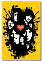 beatles box - The Beatles Silk Wall Poster x24 x12 inch Big Room Pop Music Box Art Prints Mural Beatle Paul John Lennon