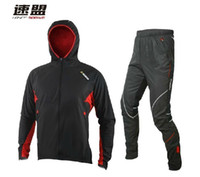 Wholesale SOBIKE WINDOUT CATHE Men s Cycling Coat Bike Bicycle Cycle Clothing Long Jersey Jacket Wind Storm Tights Pants Whirlwind