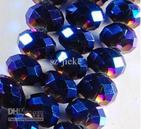 Wholesale 72pcs x6mm Charming Faceted Crystal Loose Beads