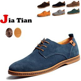 2017 hombres zapatos nuevos estilos Al por mayor-NUEVOS 2015 estilo Suede Europea cuero genuino zapatos oxfords de los hombres california holgazanes casuales, zapatillas de deporte para hombres Pisos hombres zapatos nuevos estilos outlet