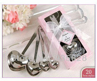 baby celebration gifts - New Creative Wedding Favor gifts baby full moon celebration supplies measuring spoon four piece of small gifts