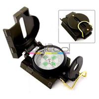 Wholesale 3in1 Army Marching Hiking Camping Lensatic Lens compass New Hot
