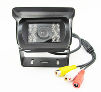 Nuevo CMOS de la cámara de copia de seguridad retrovisores de coches de color Noche IR MIC (SH60)