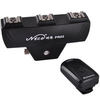 Wholesale Remote Trigger FM Radio Trigger Speedlite Trigger PR Wireless Flash Trigger For Nikon Canon