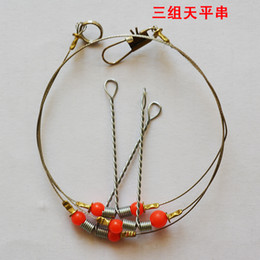 Wholesale Tong Hot selling balance spirally steel fishing wire tackle outdoor products hook holder fishing connector