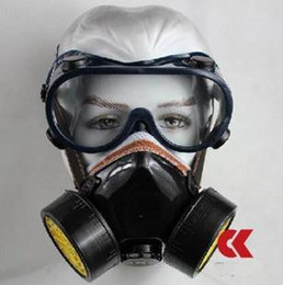 Wholesale Mask Glasses Respirator Activated carbon Antigas Mask Gas Mask Gas Purifiers Gas Cleaners set