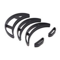 Wholesale Hot Sale Bumpits Big Happie Hair Volumizing Inserts Pump Beauty Clip Styling Tool Three Different Size set