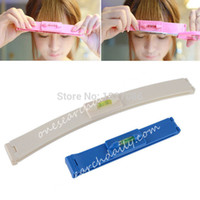 Wholesale New Plastic Level Instrument DIY Hair Bangs Cut Trim Hair Clippers high quality
