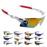Wholesale Men Women Cycling Glasses UV400 Outdoor Sports Windproof Eyewear Women Mountain Bike Bicycle Motorcycle Glasses Sunglasses