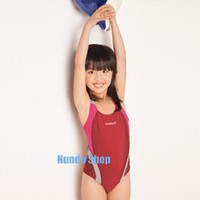 Cheap Wholesale-2015 Childrens swimsuits Swimwear girls swimming pool wear teens kids swim Bathing Suits & Swimsuits for Youth Kids