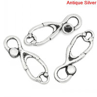 antique stethoscope - Charm Pendants Stethoscope Antique Silver x8mm B27451