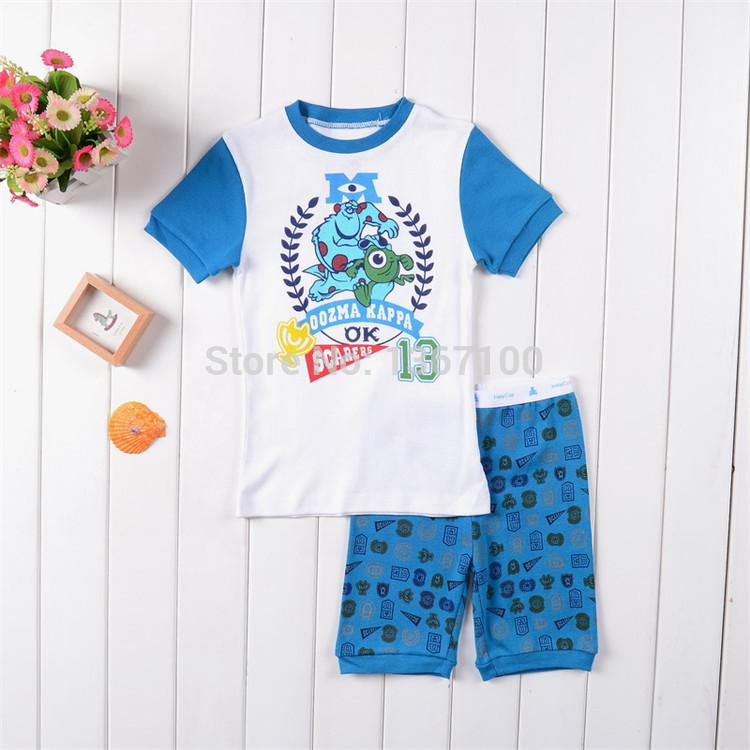 Wholesale Kids Pajamas Set Shrek Boys Clothing Set Pyjamas Summer ...