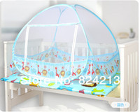 baby crib canopy - Foldable Baby Kids Toddler Child Infant Newborn Bed Crib Canopy Pop Up Mosquito Net Netting Play Tent Playpen House Playhouse