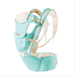Wholesale Fashion Kangaroo Backpacks Baby Carriers Sling and Hipseat in shoulders Carrying Baby Bjorn Carrier Canguru Para Bebes