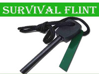 Wholesale Survival Flint Magnesium Striker Fire Starter Stick Rod large size