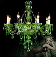 ams art - Newly Green Luxurious Export K9 Clear Crystal Chandelier Ams Class A K9 Crystal