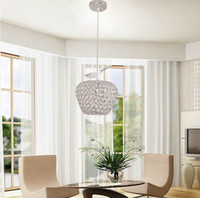 al downing - modern best selling LED Square k9 crystal Apple Chandeliers Crystal Al AC85 V crystal Apple lighting